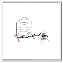 C450 Нержавеющей Стали 3 Слоя Кондитерский Стеллаж
