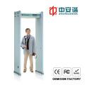 LCD Screen VIP Member Security Inspection Door Frame Metal Detector with 18 Zones