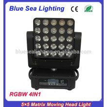 2015 new 25x12w 5x5 matrix led moving head