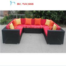 Sofá do canto do jogo do sofá do pátio do jardim 2016 para exterior (CF1478)