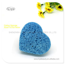 Heart Shape Promotional Facial Cleansing Sponges