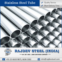 Polished Stainless Steel Tube 310 and Caps from Best Wholesaler at Reliable Price