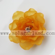41MM Acrylic Plastic Frost Beading Artificial Blossom Flowers