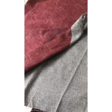 Red Cashmere Like Twill Lining