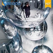 Boucle de miroir gonflable pour mini ballon décoratif à miroir décoratif en gros