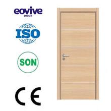 puerta al ras madera melamina de alta calidad