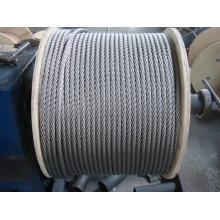 Câble métallique en acier inoxydable 316 7x19
