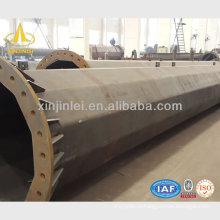 Pólos de aço 220kv