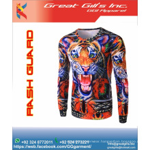 sublimated rash guard / custom made fightwear / MMA rashguard