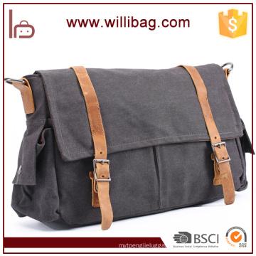 Retro Leisure Shoulder Bag Hot Sale Messenger Bag Men Canvas