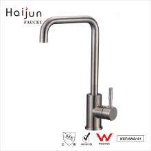 Haijun 2017 Wholesale Direct cUpc Single Handle Stainless Steel Basin Faucet