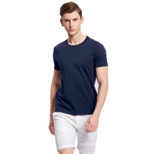 Summer Men′s Cotton Casual Breathable Short-Sleeved T-Shirt