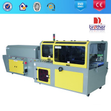 Máquina de envasado retráctil automática de alta velocidad Ass + Btv con sellado lateral