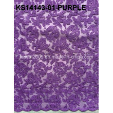 2015 Alta qualidade cordão cordão Africano tecido / cordão suíço cordões / cordão bordado padrões