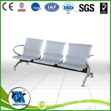 BDEC201 Waiting chair for hospital made of steel coated