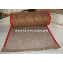 teflon coated fiberglass fabric open mesh conveyor belt
