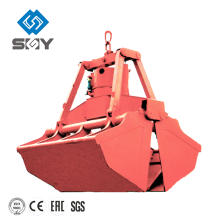 Four Rope Prevent Leakage Clamp Shell Grab