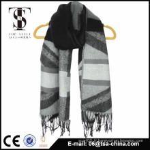 Vente chaude nouveau fournisseur d'écharpe jacquard à la mode