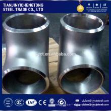 vente chaude 316 316l en acier inoxydable coude annexe 80 tuyau en acier raccord coude