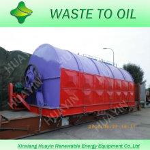 Pneus de rebut de technologie avancée réutilisant à la machine d'huile avec du CE
