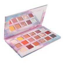 High Pigment 18 Colors Eye Makeup Waterproof Long Lasting Shimmer Vegan Cosmetics Eyeshadow vendor