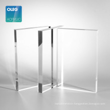 Oleg 10mm thick clear perspex cast acrylic plastic acrylic sheet