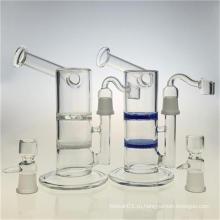 Сотовый диск Кальян стеклянный водопроводный курительный трубки для Bubbler (ES-GB-389)