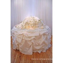 Mantel de boda de moda