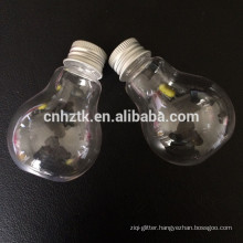 Light bulb plastic bottle
