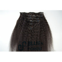 New Products For Christmas, Indian Human Hair Extensions Top Grade Clip In Hair