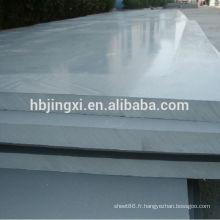 Feuille de PVC gris