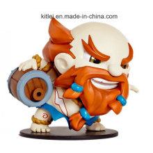 2016 Custom PVC Game Warrior Figure Toys Factory Mini PVC Toy
