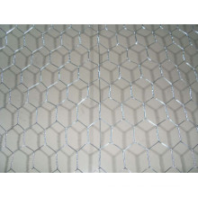 Red de alambre hexagonal galvanizado por inmersión en caliente