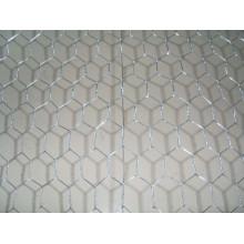 Rede de arame hexagonal galvanizada a quente