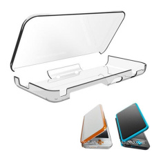 Crystal Hard Shell Case For New 2DS LL Clear Anti-Scratch Protective Cover For Nintendo New 2DS XL/LL 2017 Game Accessories