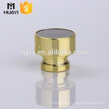 plastic gold cap perfume