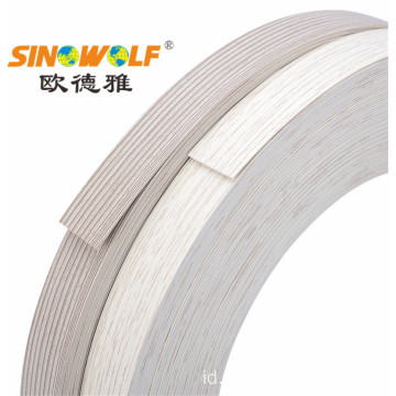 Matte Finish PVC ABS Ujung Banding Strip