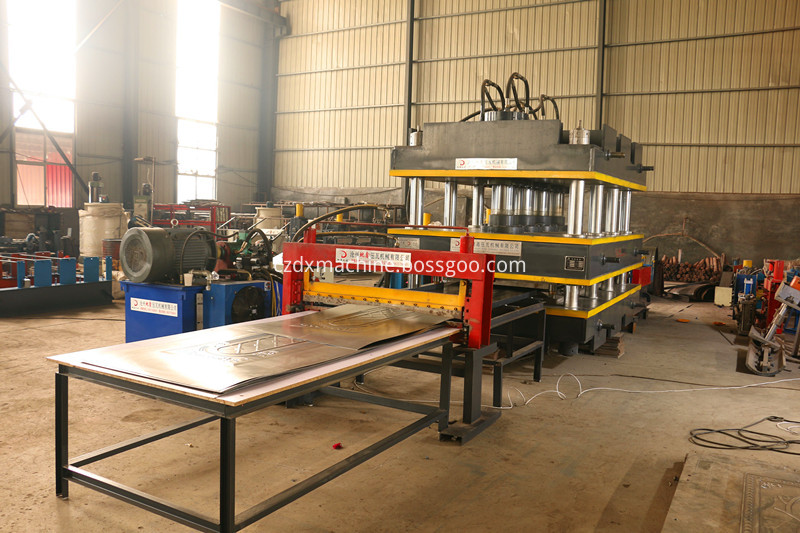 door skin hydraulic press machine