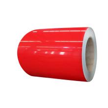 bobine en acier de couleur unie