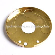 China supplier hardware manufacturer custom metal stamping brass flange