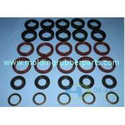 ROHS & FDA Custom Fluorine Rubber Seal Gaskets SBR / EPDM