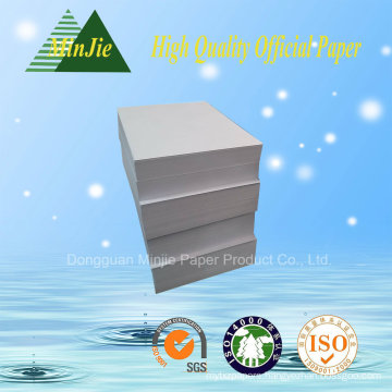 Best Quality 102% Whiteness A4 Copy Paper 80 GSM