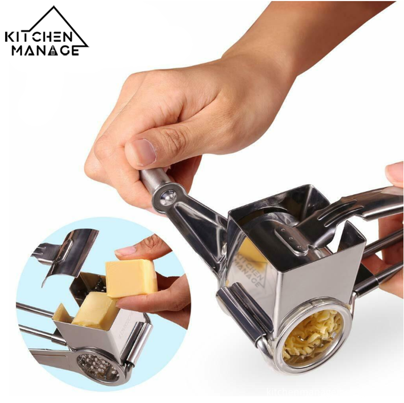 Hand Cranked Cheese Grater Image