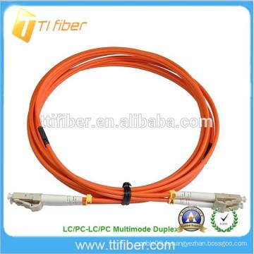 15Meter Patch de fibre optique Multimode Duplex LC / LC