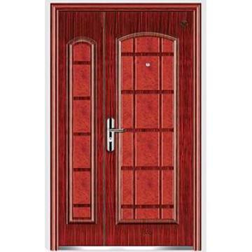 Steel Security Door Mother and Son Steel Door