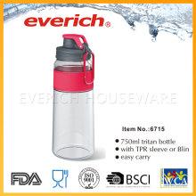 Réutilisation des bouteilles en plastique vides avec le couvercle en plastique plastique Srew