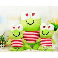 Plush Toy Soft Toy with Frog Animal Shape (k-41)