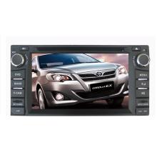 Ajuste de 2DIN coches reproductor de DVD para Toyota Corolla RAV4 Universal Camry Prado Land Cruiser LC100 Hilux 2003-2006 con sistema de navegación de GPS de TV estéreo de Radio Bluetooth