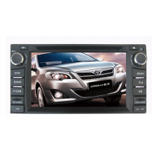 Quad Core Android 4.4.4 Car DVD Fit for Toyota Universal RAV4 Corolla Vios Hilux Terios Prado Fortuner Avanza GPS Navigation Radio Audio Video Player