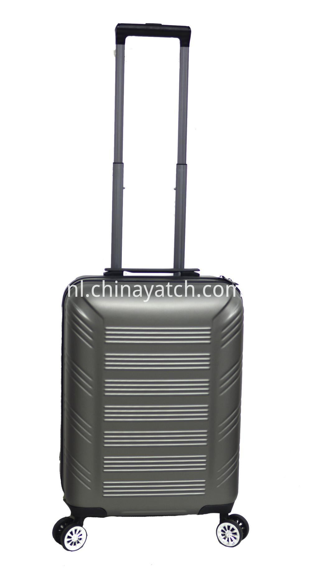 ABS luggage with spinner